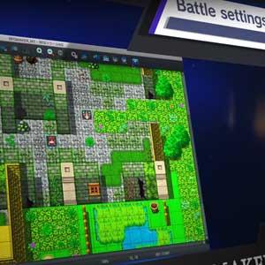 RPG Maker MZ 3D effets de particules