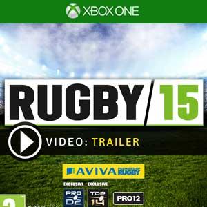 Rugby 15 Xbox One en boîte ou à télécharger