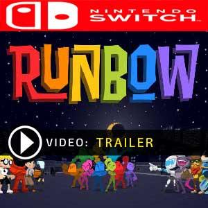 Runbow Nintendo Switch Comparateur Prix en boîte ou à télécharger