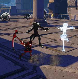 RWBY Grimm Eclipse Combat