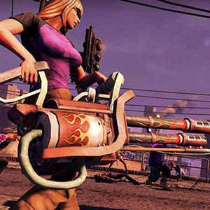 Saints Row 4 Armes