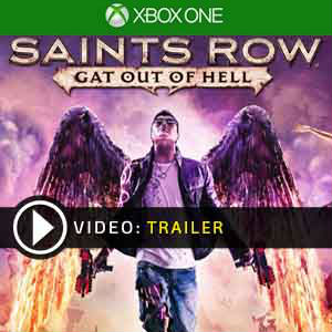 Saints Row 4 Gat Out of Hell Xbox One en boîte ou à télécharger
