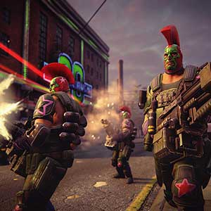 Saints Row The Third Remastered Luchadores