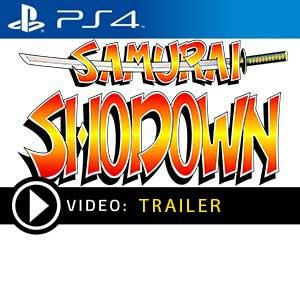 Samurai Shodown PS4 en boîte ou à télécharger