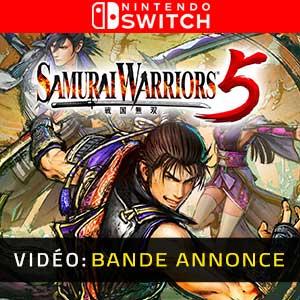 Samurai Warriors 5 Nintendo Switch Bande-annonce Vidéo