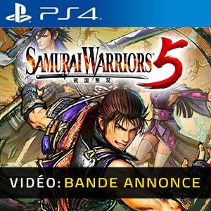 Samurai Warriors 5 PS4 Bande-annonce Vidéo