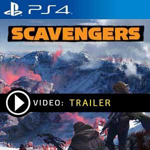 Scavengers PS4 en boîte ou à télécharger