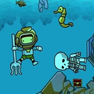 Scribblenauts Unlimited Plongée sous-marine