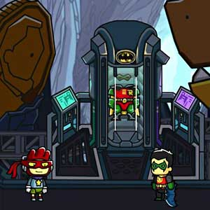 Scribblenauts Unmasked A DC Comics Adventure Gameplay