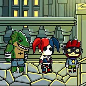 Scribblenauts Unmasked A DC Comics Adventure Vilains