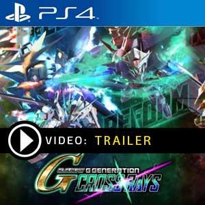 SD Gundam G Generation Cross Rays PS4 en boîte ou à télécharger