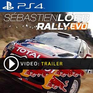 Sebastien Loeb Rally Evo PS4 en boîte ou à télécharger