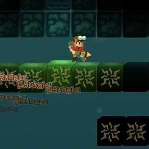 Gameplay de Secrets of Deep Earth Shrine