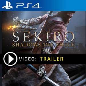 Sekiro Shadows Die Twice PS4 en boîte ou à télécharger