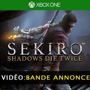 Vidéo de la bande annonce de la Sekiro Shadows Die Twice