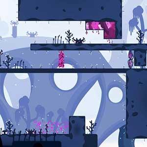 puzzle platforming gameplay