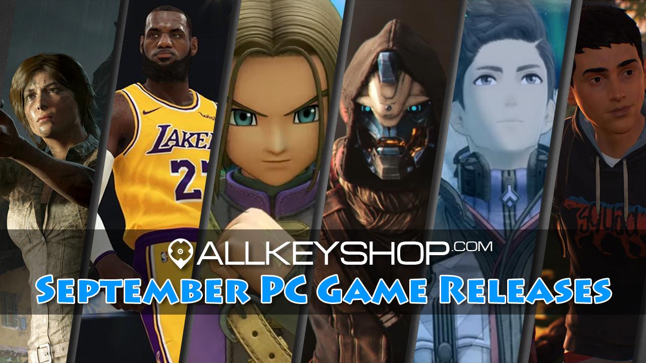 Les meilleures sorties de jeux PC pour septembre 2018