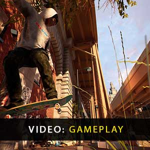 Session Skateboarding Sim Game Gameplay Video