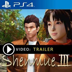 Shenmue 3 Ps4 en boîte ou à télécharger