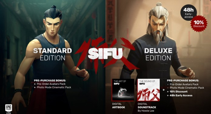 Pré-commander Sifu CD Key au meilleur prix