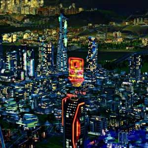 SimCity Cities of Tomorrow Ville de nuit