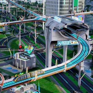 SimCity Cities of Tomorrow Système de tramway