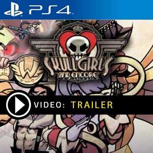 Skullgirls 2nd Encore PS4 en boîte ou à télécharger
