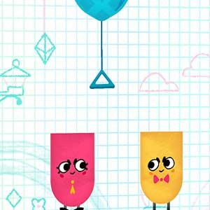 Snipperclips Cut it out together puzzles