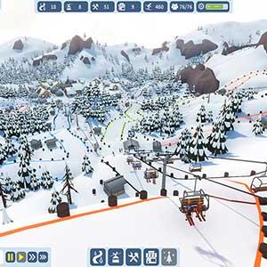 Snowtopia Ski Resort Builder Remontée Mécanique