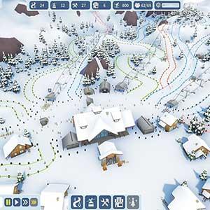 Snowtopia Ski Resort Builder Difficulté De La Pente