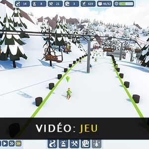 Snowtopia Ski Resort Builder Vidéo De Gameplay