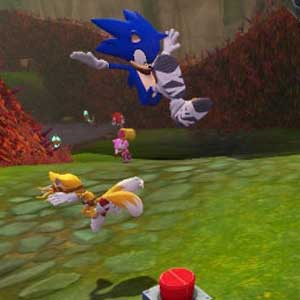 Sonic Boom Rise of Lyric Nintendo Wii U Gameplay
