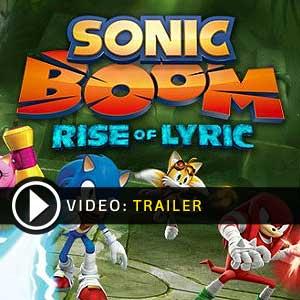 Sonic Boom Rise of Lyric Nintendo Wii U en boîte ou à télécharger