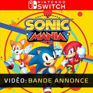 Sonic Mania Nintendo Switch Bande-annonce vidéo