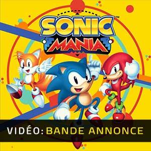 Sonic Mania Bande-annonce vidéo