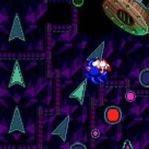 Sonic Spinball Gameplay