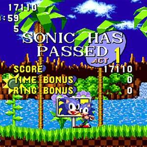 Sonic The Hedgehog - Ligne d