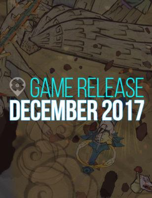 Voici les sorties de jeux pour décembre 2017 !