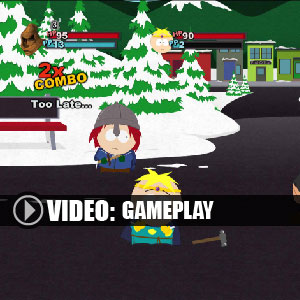 South Park the Stick of Truth Gameplay Video