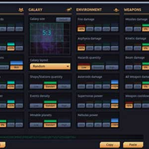 Space Rogue Interface