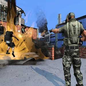 Special Forces Team X Scénario