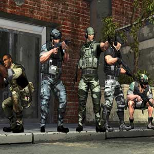 Special Forces Team X Personnages