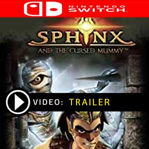 Sphinx and the Cursed Mummy Nintendo Switch en boîte ou à télécharger