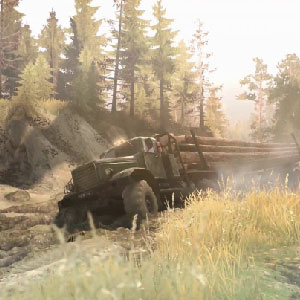 Spintires paysages sauvages