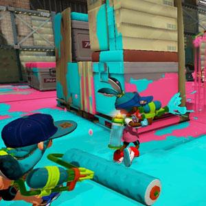 Splatoon Nintendo Wii U Bataille