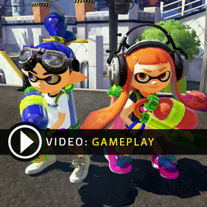 Splatoon Nintendo Wii U Gameplay Video