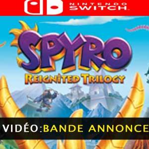 Vidéo de la bande-annonce de la Trilogie Spyro Reignited