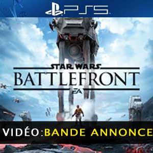 Star Wars Battlefront PS5 Bande-annonce Vidéo