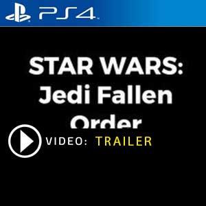 Star Wars Jedi Fallen Order PS4 en boîte ou à télécharger