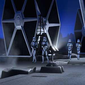 Star Wars Tie Fighter Solar Panels